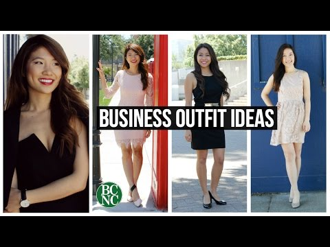 Business Outfit Ideas (Casual Work + Formal Attire)