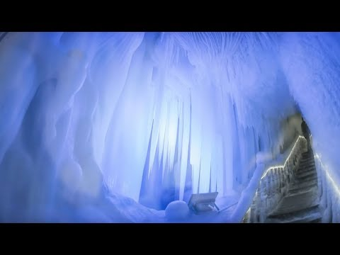Frozen Wonderland: China's magical ice caves