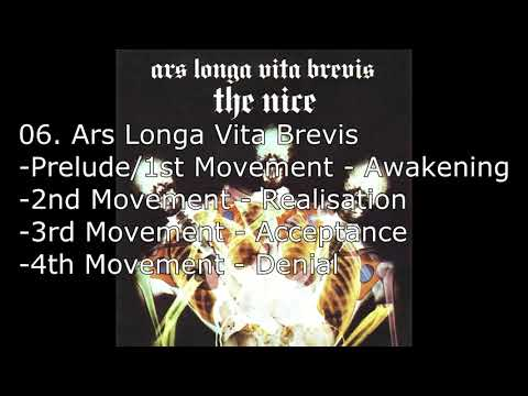 The Nice   Ars Longa Vita Brevis part 1 - 4