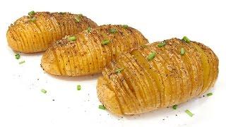 Patatas al Horno estilo Hasselback
