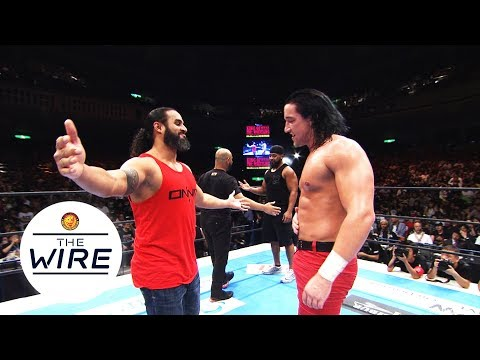 BC- Bullet Club Switchblade Jay Whit New Japan Pro Wrestling Official NJPW