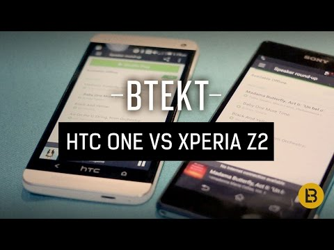 Xperia Z2 tested in audio comparison with HTC One and Xperia Z1