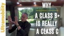 What is a Class B Plus Motorhome   Class A, Class B & Class C Explained