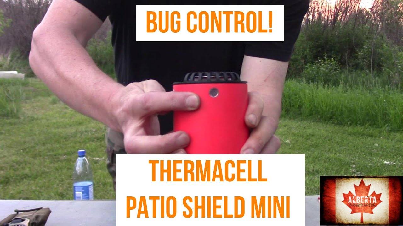 bye bye bugs thermacell patio shield mini review