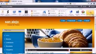 Video Tutorial WebNode 1 Registrarse