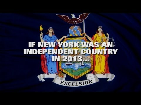 What If New York Was An Independent Country?