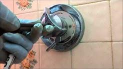 bad water leak in shower wall