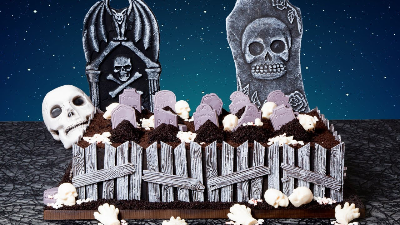 Haunted Graveyard made of CAKE! | Ultimate Halloween Party Cakes | How To Cake It Step By Step