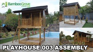 Bamboo Grove Furniture - Zyra Playhouse Assembly