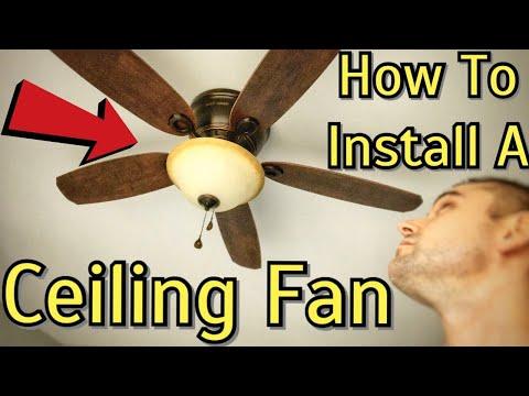 ceiling-fan-installation---harbor-breeze-lake-canton-flush-mount-ceiling-fan