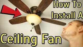 Ceiling Fan Installation - Harbor Breeze Lake Canton Flush Mount Ceiling Fan