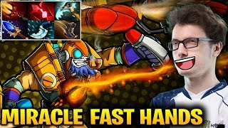 Miracle Tinker: His Hands are too Fast Dota 2 7.17