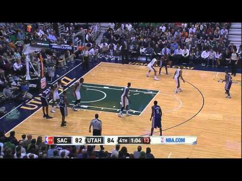 Tyreke Evans Highlights (20 Points vs. Utah) Throwback Night HD