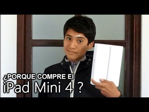 ¿Porque Compre el iPad Mini 4 ? - Lo Recomiendo ? (2017)