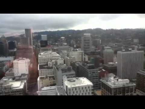 Downtown Portland Skyline