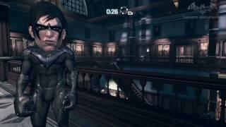 Batman: Arkham City - Easter Egg #18 - Big Head Mode