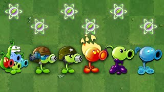 Plants VS. Zombies 2 | All Peashooter Challenge \u0026 Power up! VS Brickhead Zombie 2
