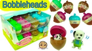 Full Box Lil Woodzeez Fuzzy Bobblehead Collection Surprise Blind Bag Acorns