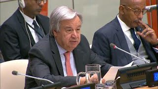 António Guterres (Secretary-General) at Africa Dialogue Series 2018