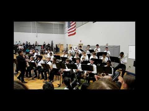 Markham Woods Middle School Jazz Band November 7, 2019
