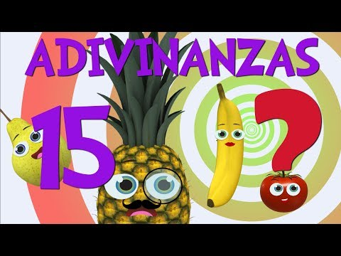 Guess Playing with the 15 riddles and riddles of Fruits _ Video for children