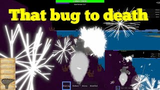 That bug to death - One Piece Legendary-Roblox-Quake Fruit