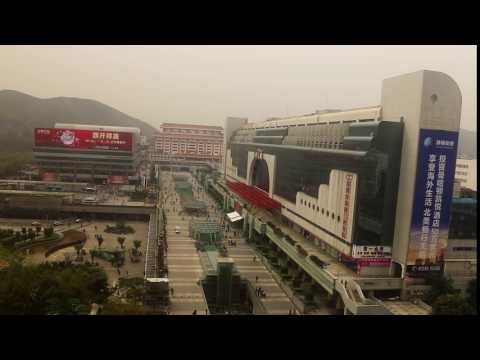 TIME LAPSE: Shenzhen Luohu Station - View From Shangri-La, China