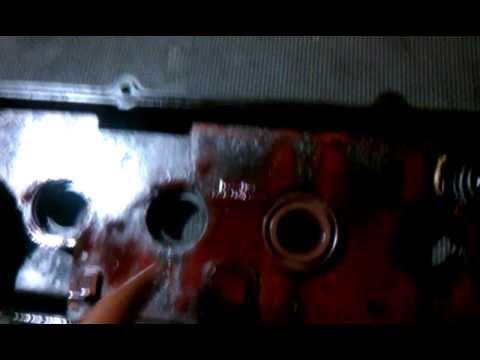 Nissan Sentra 1.6 1996 Valve Cover Spark plug Seal Fix ...