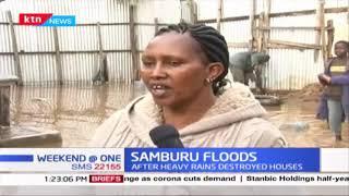 Hundreds displaced in Samburu after heavy rains destroyed houses last evening