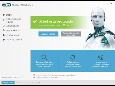 Descargar ESET Nod32 Antivirus 9 Full 2017