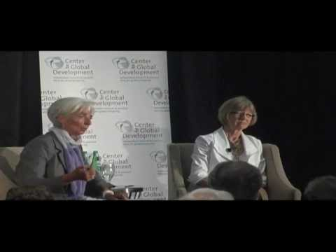 Christine Lagarde and Nancy Birdsall Discuss Rio+20
