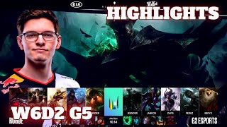 Rogue vs G2 Esports (Extended Highlights) | Week 6 Day 2 S10 LEC Summer 2020 | RGE vs G2 W6D2