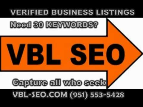 SEO - VERIFIED BUSINESS LISTINGS RESULTS - SEO VALLEY TEMECULA CA