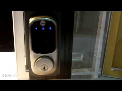 CEDIA 2014: ATT Digital Life Demos Digital Door Lock