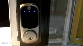 CEDIA 2014: ATT Digital Life Demos Digital Door Lock