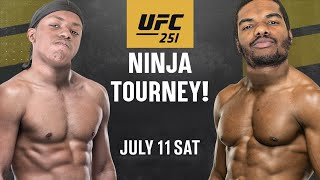 Juice Is Handing Out Butt Whoopins & Bubble Gum! (UFC 3 Ninja Tournament)