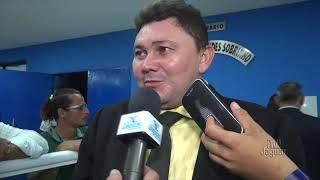 Lucieudo Sena critica o novo prédio da câmara, e se diz surpreso com a possível retomada de conclusão