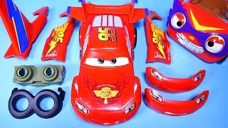 CARS Lightning McQueen Design and Drive Gear up toy