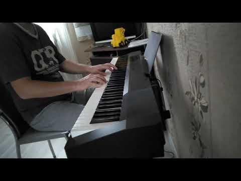 Фортепиано 5 месяцев практики