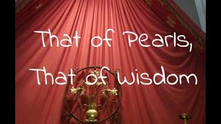 That of Pearls, That of Wisdom