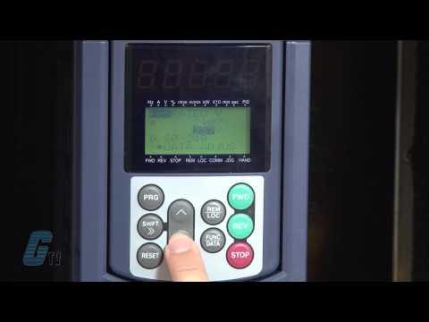 Fuji Electric Frenic Mega Series AC Drive Basic Start-Up Using the Keypad