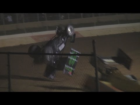 Trail-Way Speedway 358 Sprint Car Highlights 6-27-14