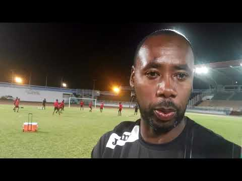 Dennis Lawrence on Martinique arrival
