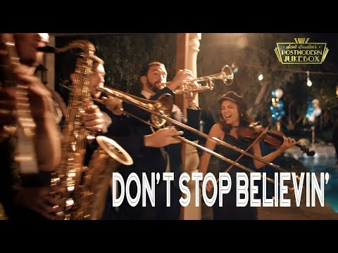 Dont Stop Believin  Journey ONE TAKE Vintage Postmodern Jukebox