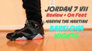 Jordan 7 VII Barcelona Nights | Just Dreaming Review + On Feet 1080p HD