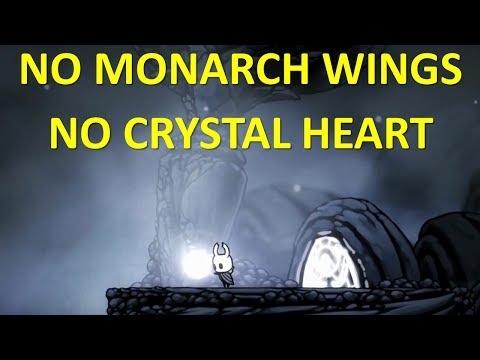 HOLLOW KNIGHT - Hallownest Crown Pale Ore no Monarch Wings no Crystal Heart |