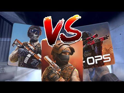 Modern Ops VS Critical Ops VS Standoff 2