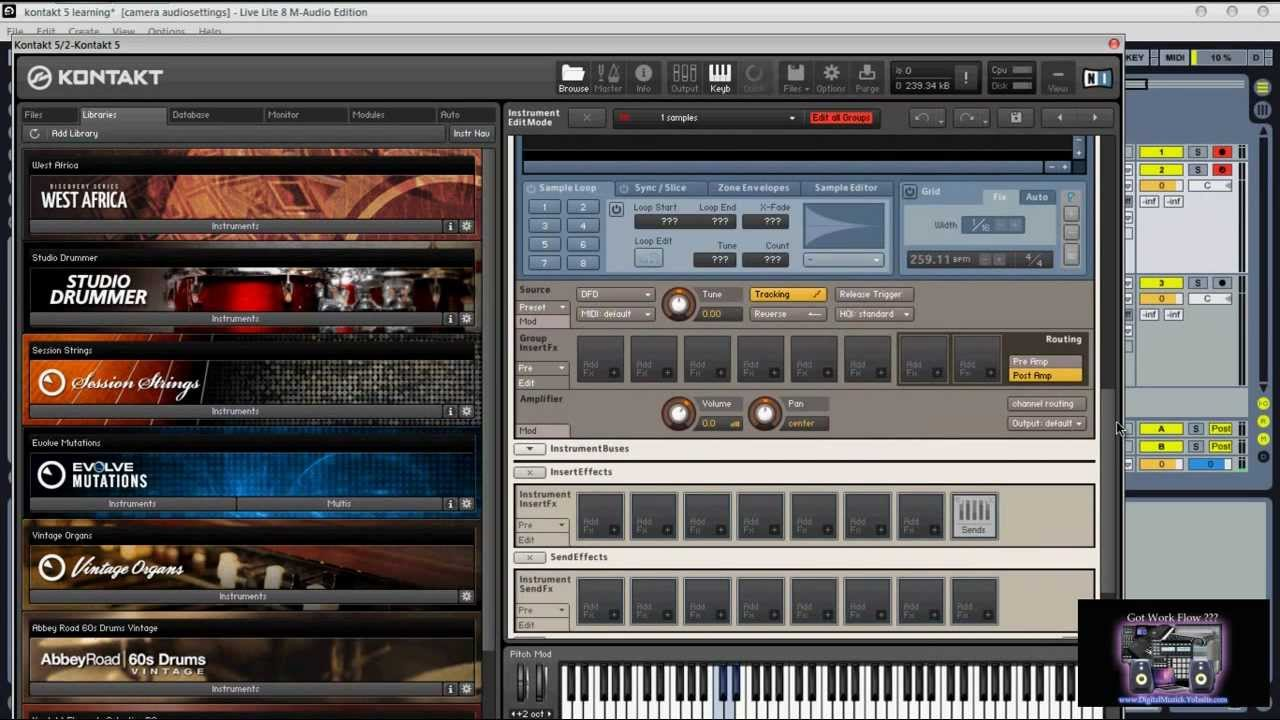 Komplete 8 Kontakt 5 How to slice and Chop your Samples - YouTube