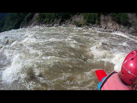 Тулунское наводнение на Оке Саянской - Бурятский и Окинский