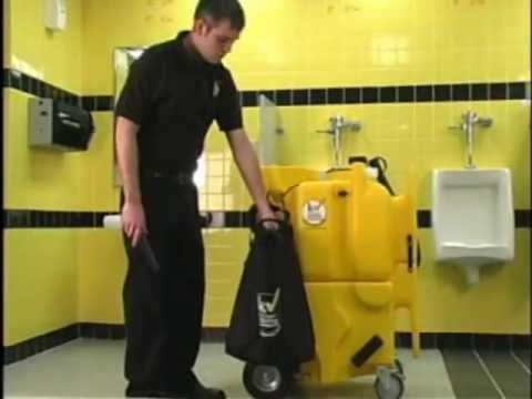 How to set up and operate your kaivac restroom cleaning for Bathroom cleaning machine
